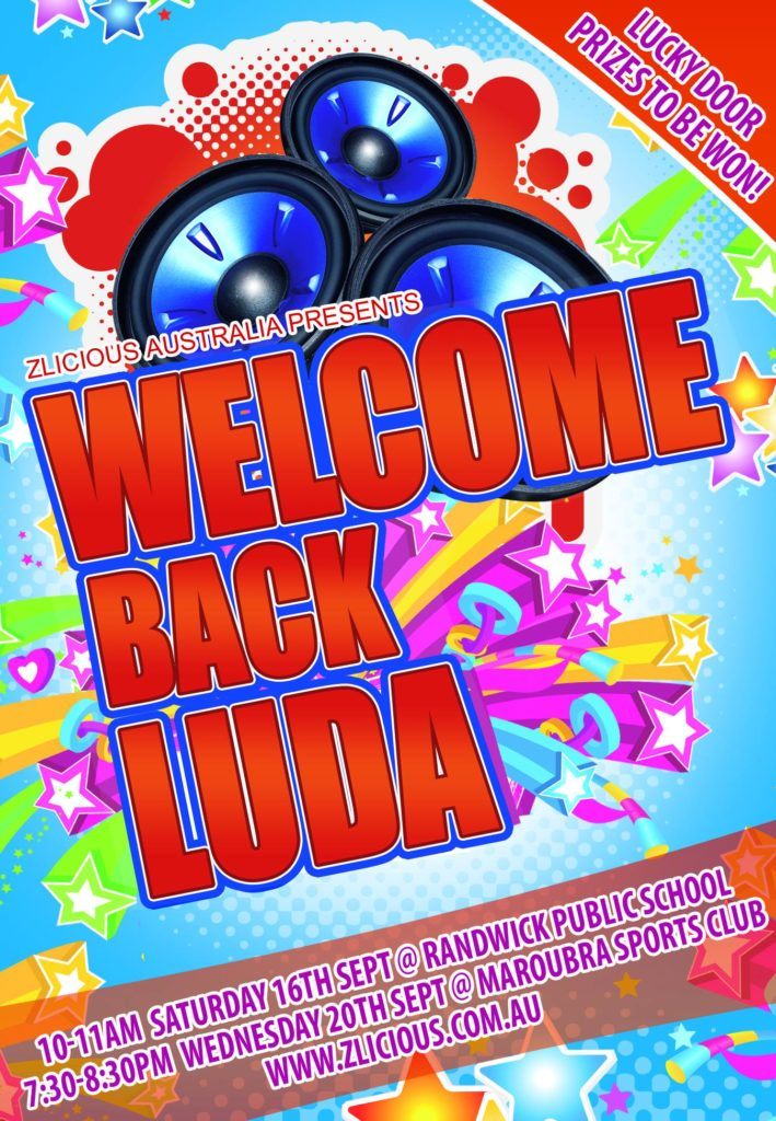 Luda Returns 2017 Flyer