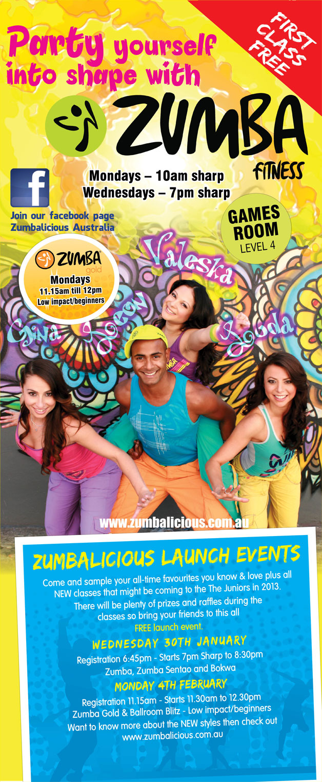 zumbalicious-launch-party